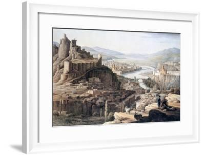 View of Tiflis, 1830-Nikandor Grigorievich Chernetsov-Framed Giclee Print