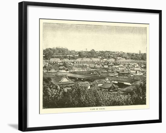 View of Tokio--Framed Giclee Print