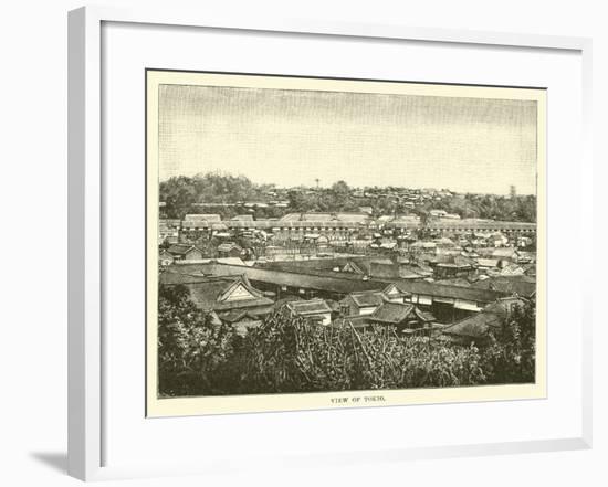 View of Tokio--Framed Giclee Print