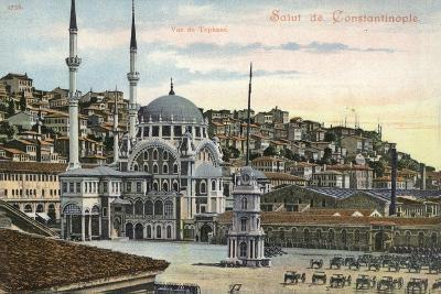 View of Tophane, Constantinople, Turkey--Photographic Print