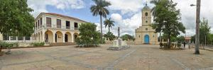 View of town center, Vinales, Pinar del Rio Province, Cuba