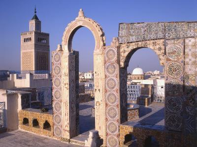 View of Tunis from the Palais D'Orient--Photographic Print