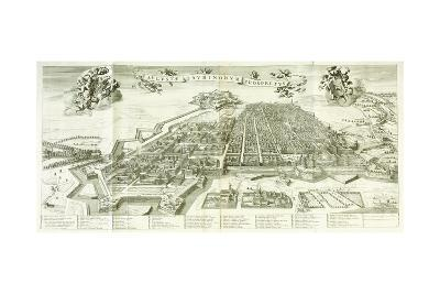View of Turin, 1672-Giovanni Tommaso Borgonio-Giclee Print