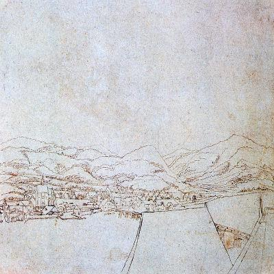 View of Urfahr, C1510-1553-Wolf Huber-Giclee Print