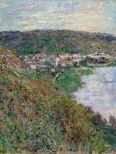 View of V?theuil, 1880-Claude Monet-Giclee Print