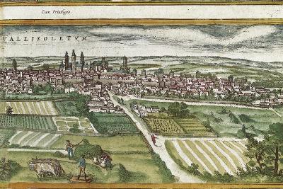 View of Valladolid-Abraham Ortelius-Art Print