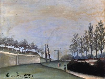 View of Vanves, 1909-Henri Rousseau-Giclee Print