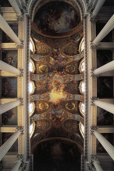 View of Vault of Royal Chapel, Palace of Versailles--Photographic Print