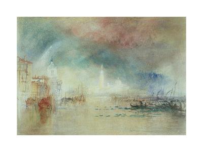 View of Venice from La Giudecca-J^ M^ W^ Turner-Giclee Print