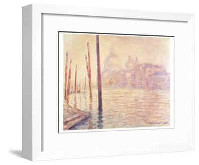 View of Venice-Claude Monet-Framed Art Print
