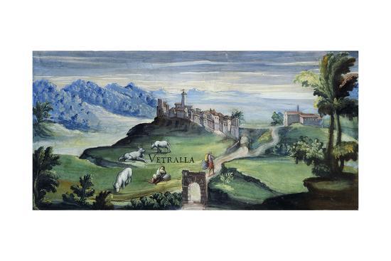 View of Vetralla, 1592-Tarquinio Ligustri-Giclee Print