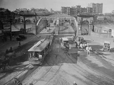 View of Victoria Bridge--Photographic Print