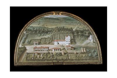 View of Villa Di Colle Salvetti--Giclee Print