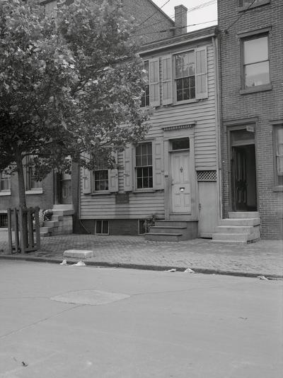 View of Walt Whitman's House-Philip Gendreau-Photographic Print