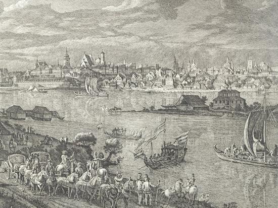View of Warsaw-Bernardo Buontalenti-Giclee Print