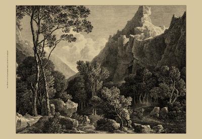 View of Wensley-George Cuitt-Art Print