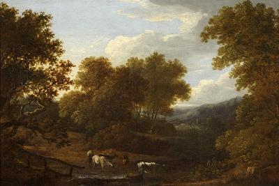 View of Weston Church and Lansdown-Benjamin Barker-Giclee Print