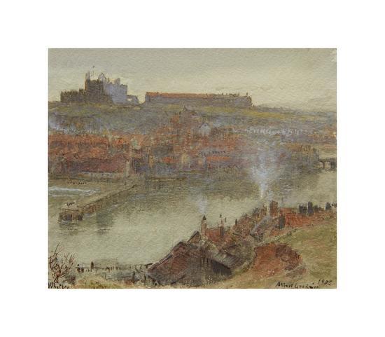 View of Whitby, 1905-Albert Goodwin-Premium Giclee Print