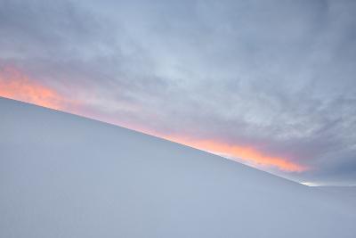 View of White Sand Dune at Sunset in White Sands National Monument-Derek Von Briesen-Photographic Print