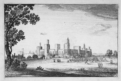 View of Windsor Castle, Berkshire, 1644-Wenceslaus Hollar-Giclee Print