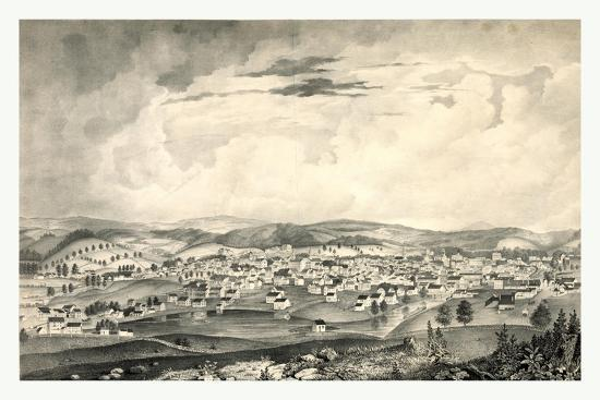 View of Worcester--Giclee Print