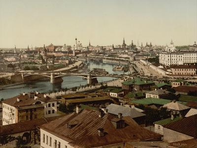 View of Zamoskvorechye (Panoramic View of Mosco), 1890S--Giclee Print