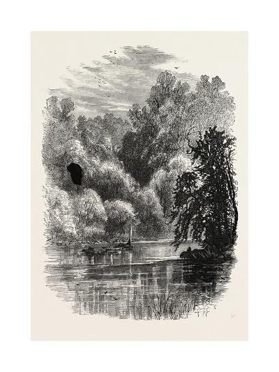 View on the Brandywine, USA, 1870s--Giclee Print