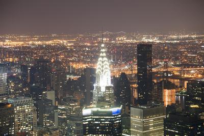 View on the Chrysler Building, Manhattan, New York, Usa-Benjamin Engler-Photographic Print