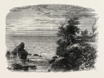View on the Coast of Massachusetts, USA, 1870s--Giclee Print