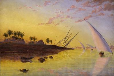 View on the Nile, 1855-Thomas Seddon-Giclee Print