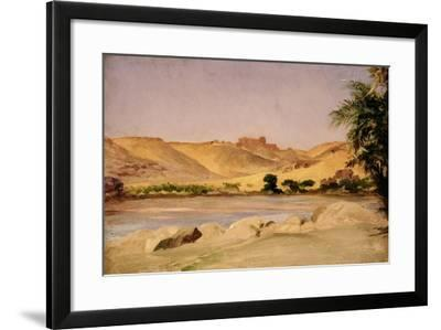 View on the Nile, C.1879-Frederic Leighton-Framed Giclee Print