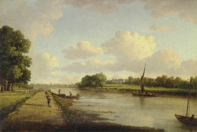 View on the River Thames at Richmond (?), C.1776-William Marlow-Giclee Print