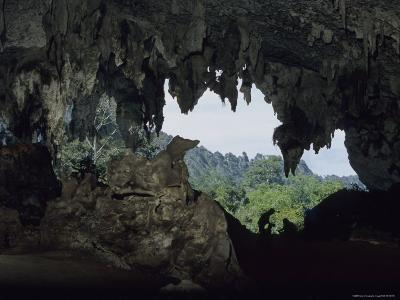 View Out of a Cave Entrance Used by Peoples Over 10,000 Years Ago-Peter Carsten-Photographic Print