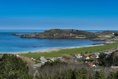 View over Alderney, Channel Islands, United Kingdom-Michael Runkel-Photographic Print
