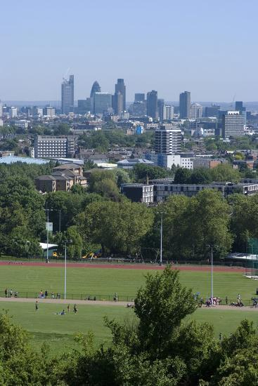 View over Central London from Parliament Hill, Hampstead Heath, Hampstead, London, Nw3-Natalie Tepper-Photo