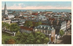 View over Charleston, South Carolina