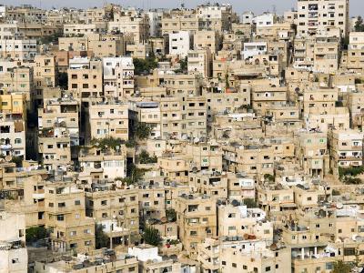 View over City, Amman, Jordan, Middle East-Tondini Nico-Photographic Print