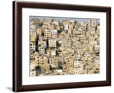 View over City, Amman, Jordan, Middle East-Tondini Nico-Framed Photographic Print