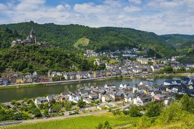 View over Cochem with its Castle, Moselle Valley, Rhineland-Palatinate, Germany, Europe-Michael Runkel-Photographic Print