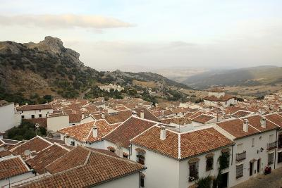 View over Grazalema Village at Parque Natural Sierra De Grazalema, Andalucia, Spain, Europe-Yadid Levy-Photographic Print