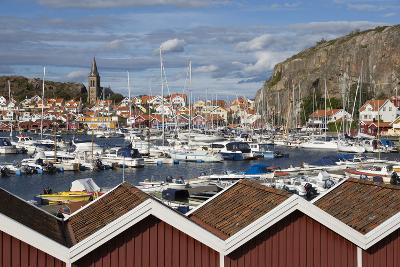 View over Harbour and Vetteberget Cliff, Fjallbacka, Bohuslan Coast, Southwest Sweden, Sweden-Stuart Black-Photographic Print