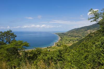 View over Lake Malawi Near Livingstonia, Malawi, Africa-Michael Runkel-Photographic Print