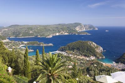 View over Liapades Bay from Hilltop Viewpoint Near Lakones-Ruth Tomlinson-Photographic Print