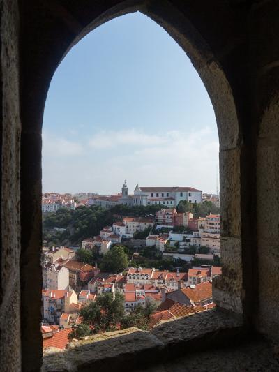 View over Lisbon Portugal-BackyardProductions-Photographic Print