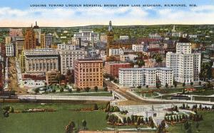 View over Milwaukee, Wisconsin