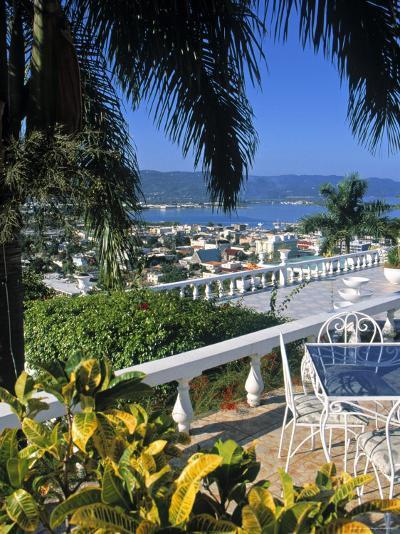 View over Montego Bay, Jamaica-Doug Pearson-Photographic Print