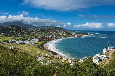 View over North Frigate Bay on St. Kitts-Michael Runkel-Photographic Print