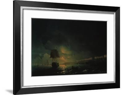 View of Odessa by Moonlight Aivazovsky various sizes fine art print poster