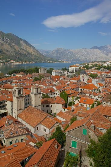 View over Old Town, Kotor, UNESCO World Heritage Site, Montenegro, Europe-Frank Fell-Photographic Print
