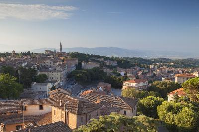 View over Perugia, Umbria, Italy-Ian Trower-Photographic Print